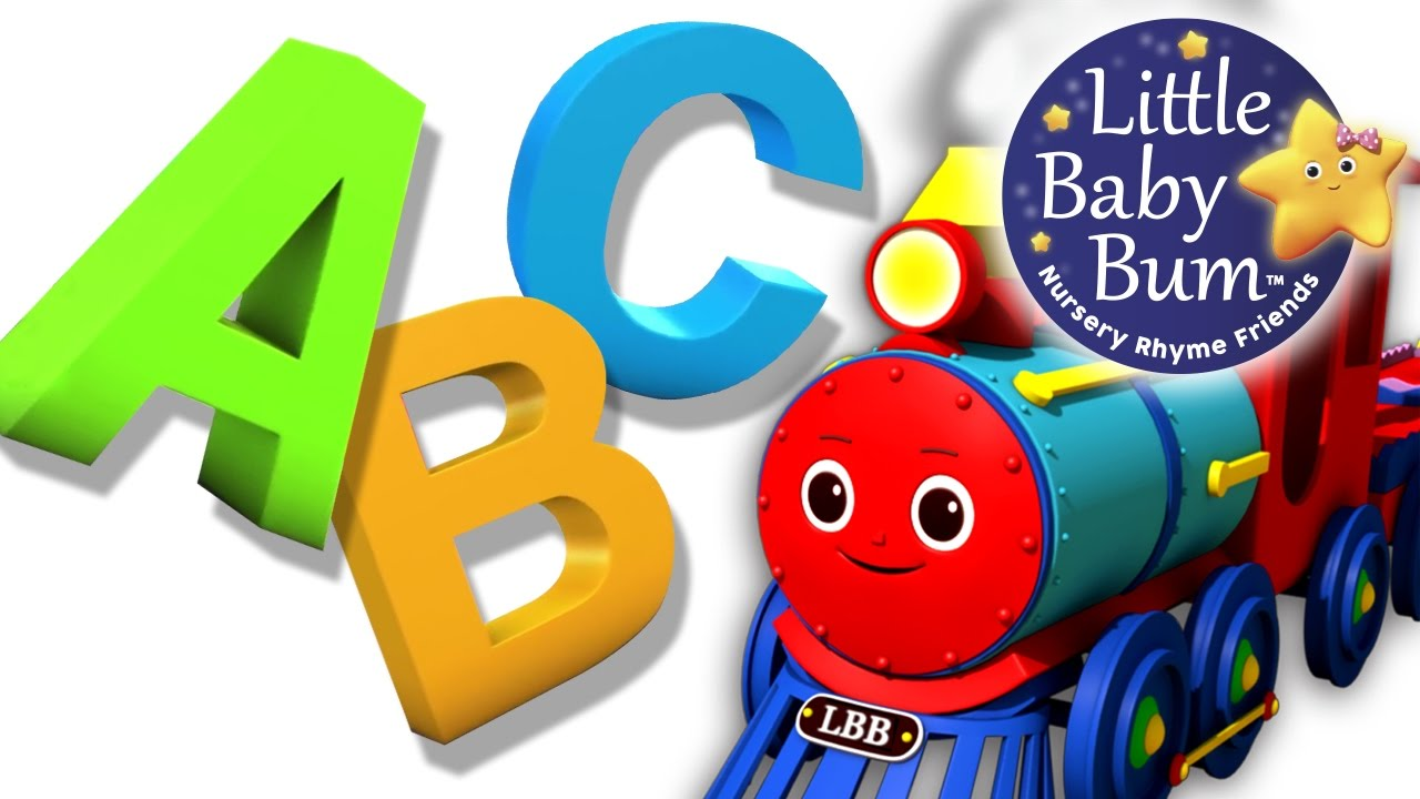 Abc Song Abc Train Song Nursery Rhymes Original Song