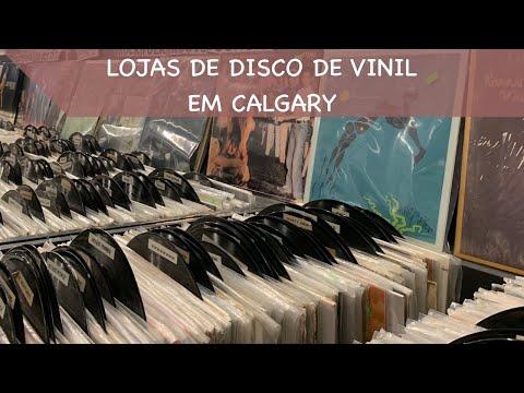 LOJAS DE DISCO DE VINIL - CALGARY, AB