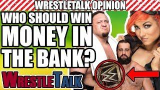 Who Should WIN WWE Money In The Bank 2018? | WrestleTalk Opinion