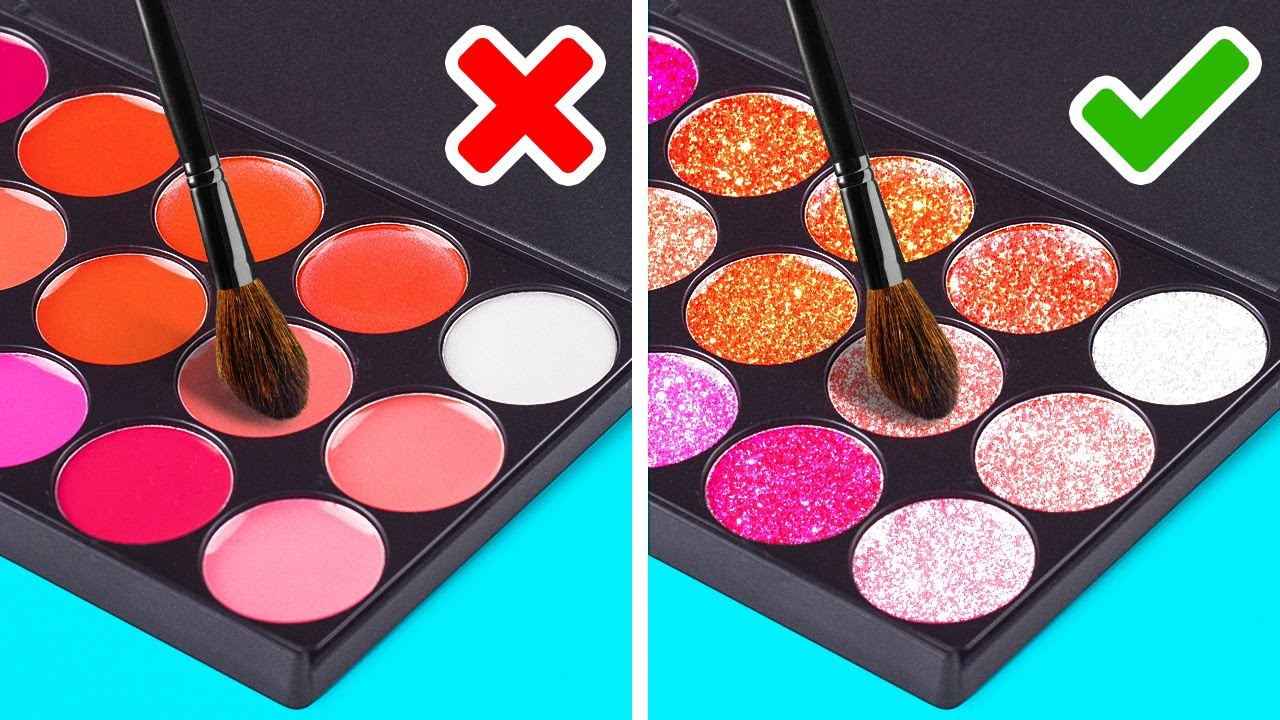 10+ Makeup And Beauty Hacks For Girls