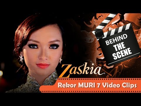 Zaskia - Behind The Scenes 7 Video Klip Dalam 1 Hari - Rekor MURI  - NSTV