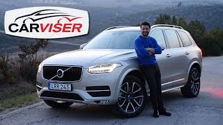 Volvo XC90 D5 T8 Test Sr Review English subtitled