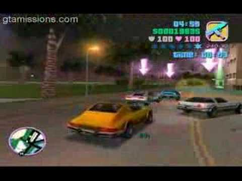 How to Beat the Sunshine Autos races in GTA: Vice City