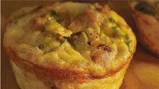Healthy Mini Quiches Recipe