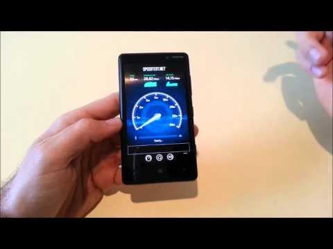 Nokia Lumia 820 4G/LTE test