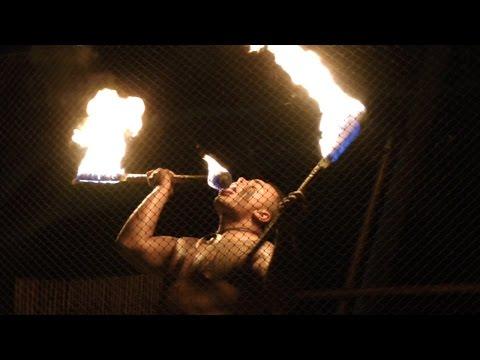 Amazing Fire Dance at the Royal Kona Resort, Kailua-Kona; Hawaii