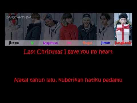 [INDO SUB]  A Typical Trainee's Christmas BTS - 흔한 연습생의 크리 (방탄소년단) Color Coded Lyrics