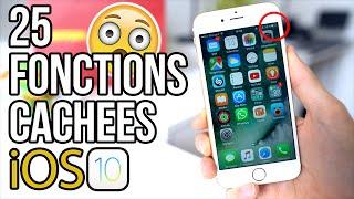 25 fonctions cachées et astuces sur iOS 10 !