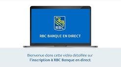 Inscription à RBC Banque en direct