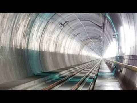 Dünyanın en uzun tüneli açıldı