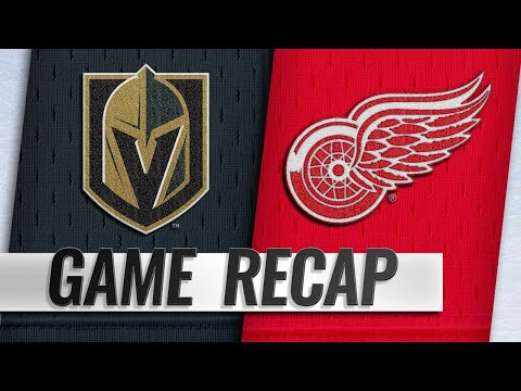 Marchessault scores twice in win against Red Wings