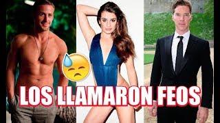"""TOP 10 FAMOSOS A Los Que No Les Daban TRABAJO Por """"FEOS"""""""