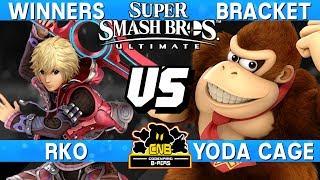 Smash Ultimate - RKO (Shulk) vs Yoda Cage (DK) - CNB 168 Winners Bracket