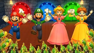 Mario Party 9 - All Free for All MiniGames (2 Players)