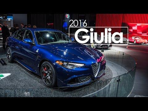 2016 Alfa Romeo Giulia | 2016 North American International Auto Show | Detroit Auto Show