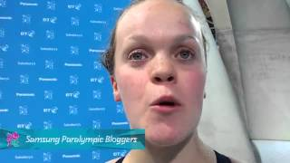 IPC Blogger - Ellie Simmonds from Team GB 200m IM gold, Paralympics 2012