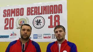 Самбо турнир в Берлине Ноябрь 2018 Команда из России