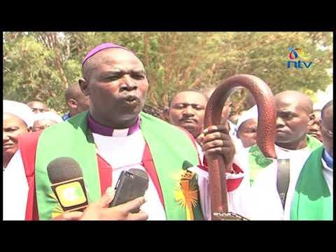 Uhuru Kenyatta, Raila Odinga will be responsible if Kenya burns - Archbishop Jackson ole Sapit