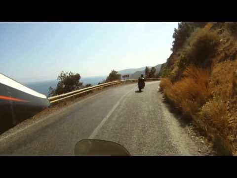 Honda Africa Twin travel to Asia : Turkey, Syria and Jordan (Petra).  part 5/5