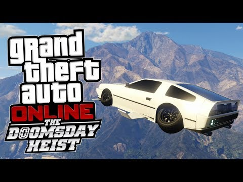 GTA Online: The Doomsday Heist PL - NAJLEPSZY LATAJĄCY POJAZD! -  Imponte Deluxo