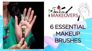 6 Essential Makeup Brushes One Must Have In Their Makeup Kit || Products ||  The Cloakroom Thumbnail