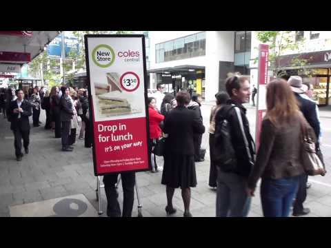 Coles store opening