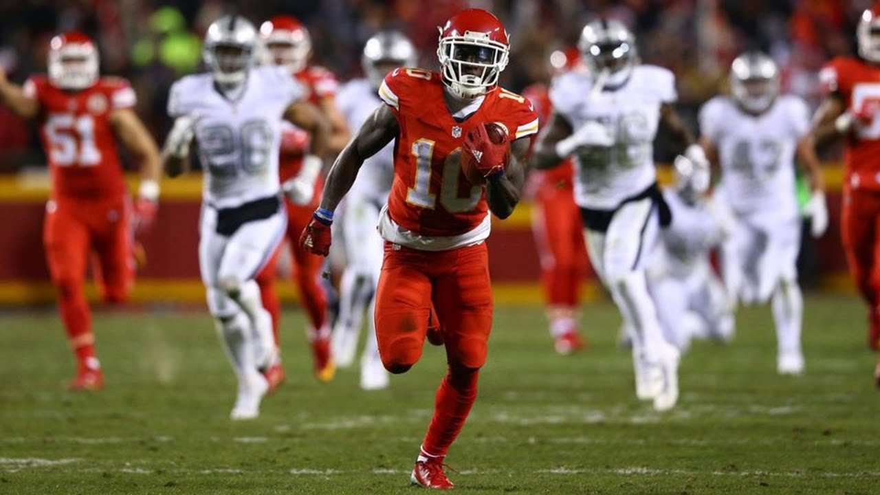 Tyreek Hill Too Much Sauce Rookie Highlights YouTube
