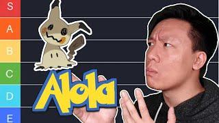 Tier-List für alle Pokémon aus Alola   Viets persönliches Ranking #07