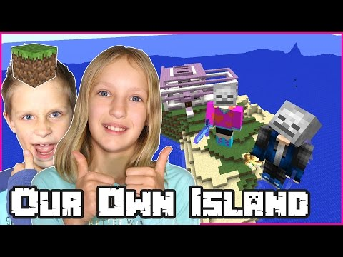Building Our Own Island with Ronald / Minecraft Realm