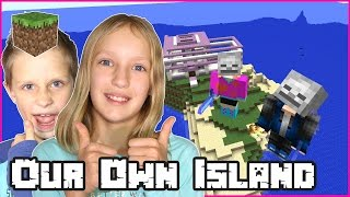 Building Our Own Island with Ronald / Minecraft Realm thumbnail