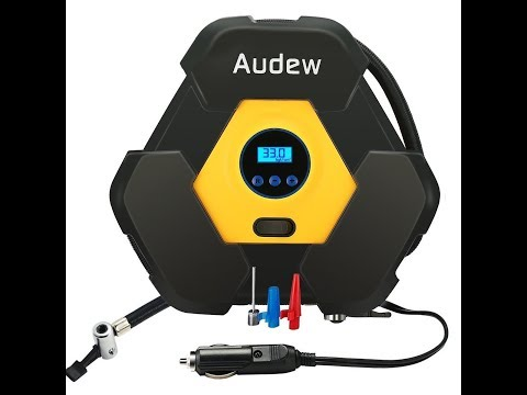 Recensione ITA Audew Compressore Aria Portatile Display Digitale DC 12V 150PSI