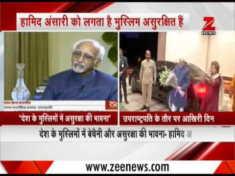 Hamid Ansari says, 'Muslims in India feel restless and insecure'