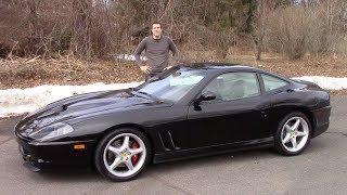 Вот почему Ferrari 550 Maranello стоит $150 000 (или больше)
