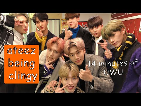 ATEEZ being clingy for 14 minutes