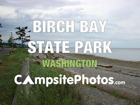 Birch Bay State Park Washington Campsite Photos Youtube