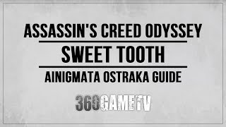 Assassin's Creed Odyssey Sweet Tooth Ainigmata Ostraka Location / Solution (Arkadia)