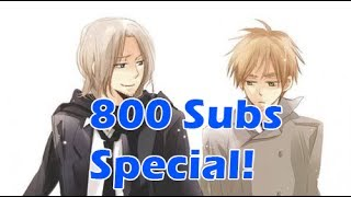 Mawaru Chikyuu Rondo England x France Duet - 800 Subscribers Special!
