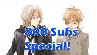 Mawaru Chikyuu Rondo England x France Duet - 800 Subscribers Special!