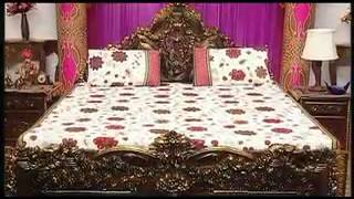 Bed Linen: Little India Double Bed Cover Set