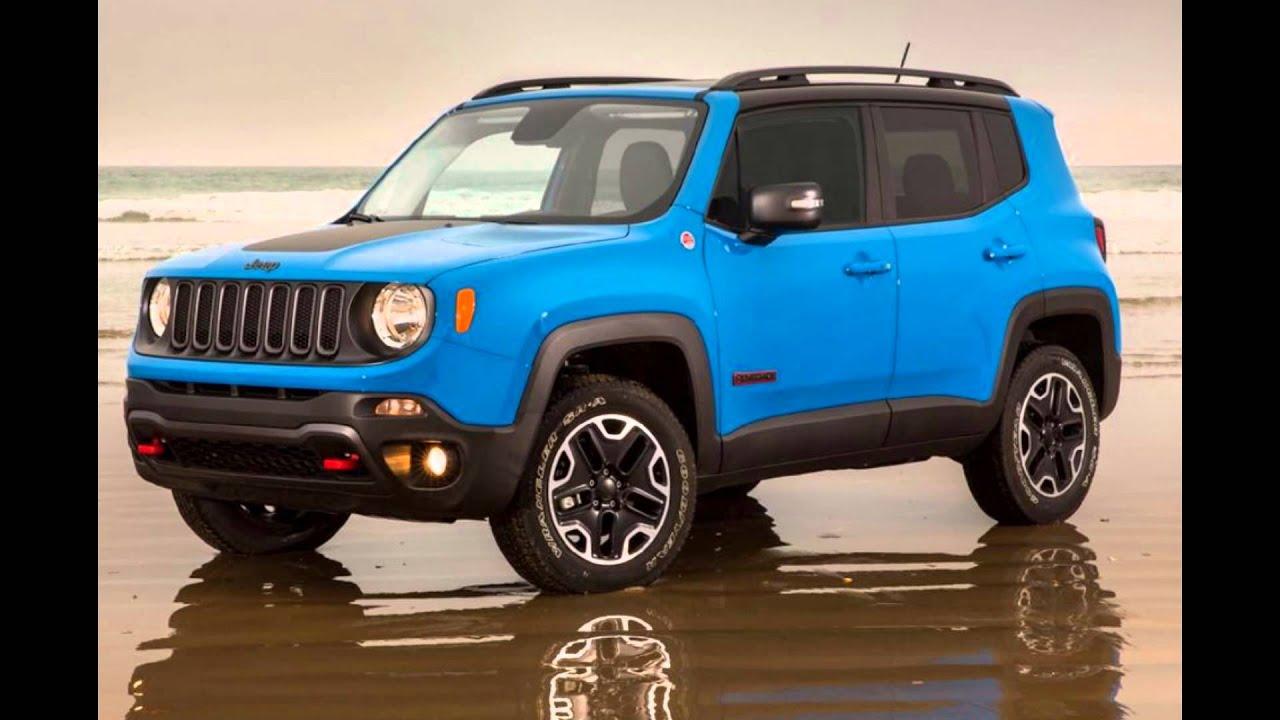 2016 jeep renegade sierra blue youtube. Black Bedroom Furniture Sets. Home Design Ideas