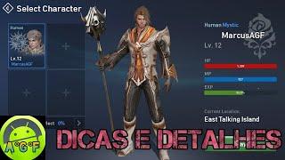 Lineage 2 Revolution Gameplay - Mago Humano + Dicas e Detalhes