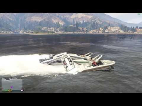 Grand Theft Auto V Boat meet Sweden.