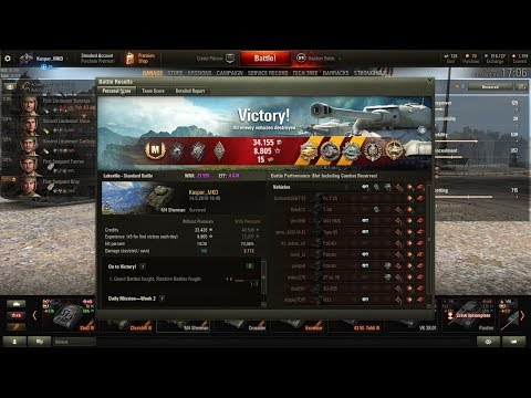 World of Tanks M4 Sherman. Love this tank. Pool's medal