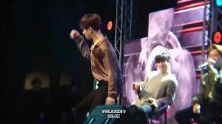 got7 fanmeeting in perth jb jackson s sexy dance
