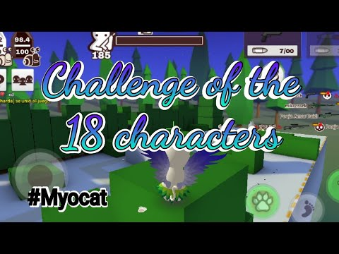 Challenge of the 18 characters-Myocat | Milkchoco!!