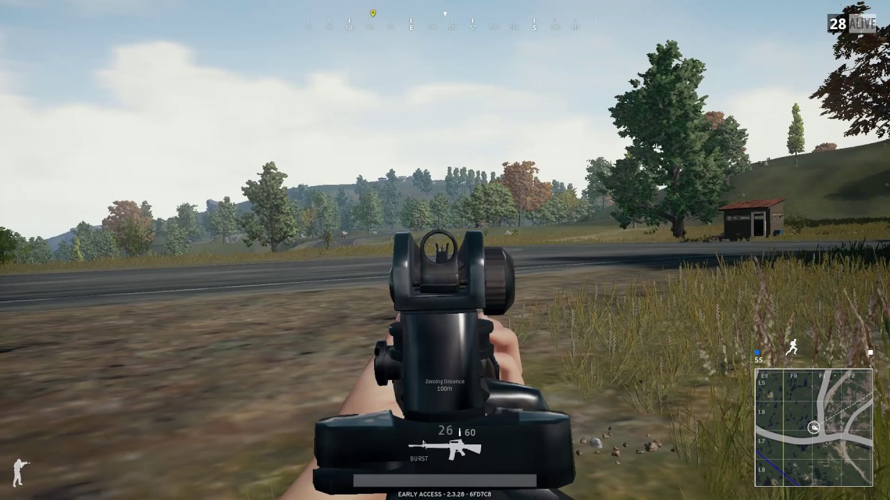 Playerunknown Battleground Cheater Using Shotgun PUBG HD