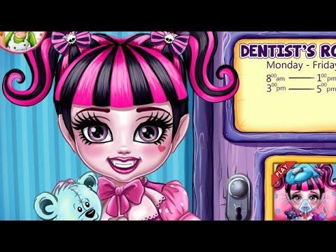 Монстер Хай Игры—Дисней Принцесса Малышка Дракулаура—Онлайн Видео Игры Для Детей мультфильм 2015