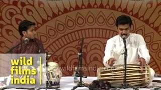 Fabulous Indian classical music duo!