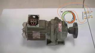 Tester un bobinage d'un moteur asynchrone triphasé