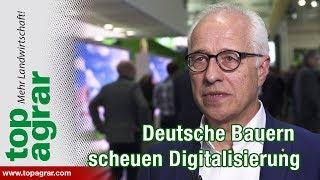Deutsche Landwirte scheuen Investitionen in digitale Welten